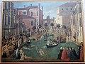 Teleri della scuola di san giovanni ev., Gentile Bellini, Miracolo della Croce caduta nel canale di San Lorenzo (1500) 01.JPG