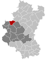 Tellin Luxembourg Belgium Map.png