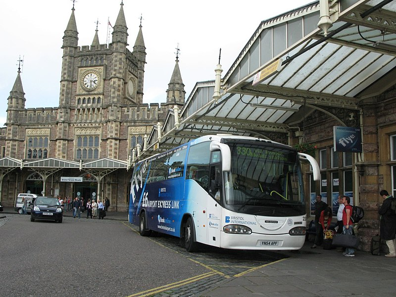 Temple Meads Bristol Airport Flyer 23021