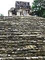Temple Staircase - Palenque Archaeological Site - Chiapas - Mexico (15653294636).jpg