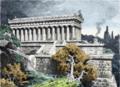 Temple of Diana at Ephesus by Fedinand Knab (1886).png