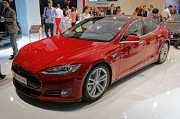 Tesla model S - Mondial de l'Automobile de Paris 2014 - 005.jpg