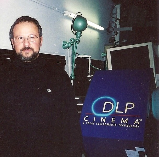 Texas Instruments, DLP Cinema Prototype System, Mark V, Paris, 2000 - Philippe Binant Archives