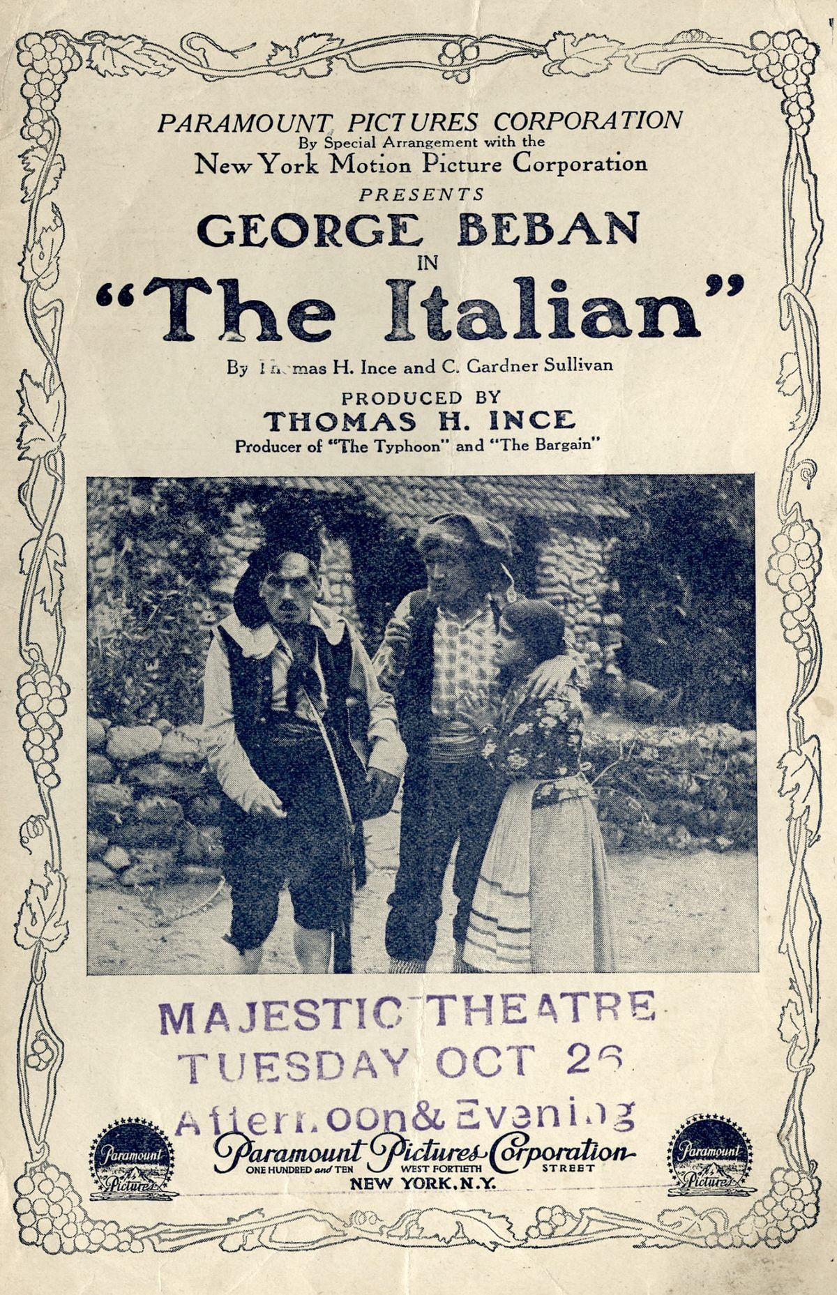 the italian  1915 film