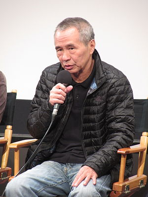 Hou Hsiao-hsien - Hou in February 2016 at a screening of  The Assassin at the Cinémathèque Française.