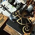 The Black Violin (back) at Guy Rabut's workshop.jpg
