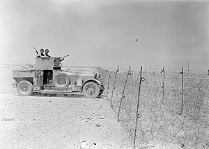 Frontier Wire (Libya) - Image: The British Army in North Africa 1940 E378.2