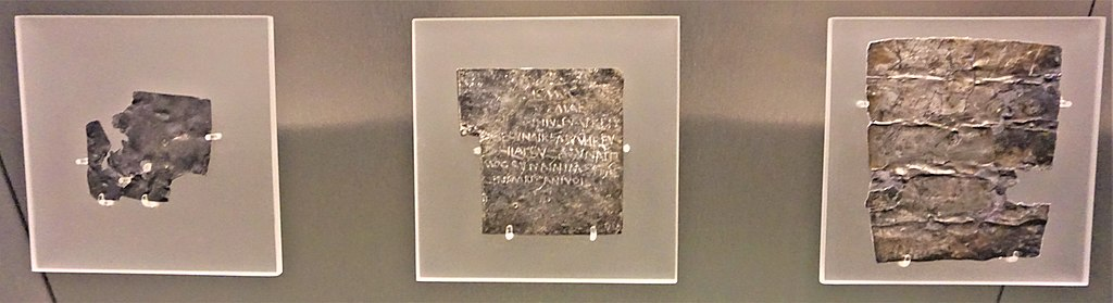 The Curse Tablets - Roman Baths (Bath)
