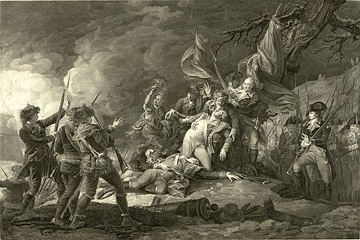 The Death of General Montgomery in the Attack on Quebec December 31 1775 John Trumbull