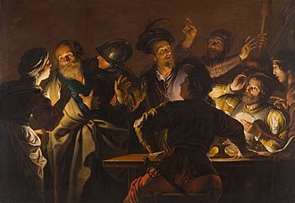 Denial of Peter - Gerard Seghers: The Denial of Saint Peter