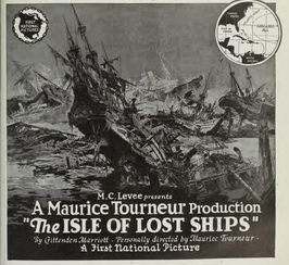 Advertentie voor The Isle of Lost Ships