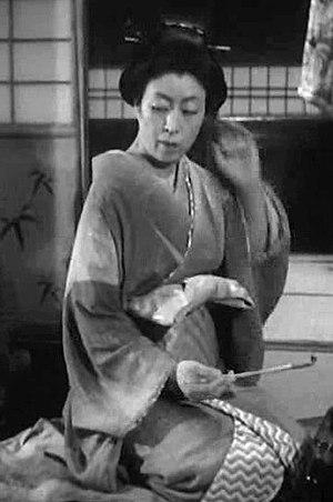 Sadako Sawamura - From The Life of Oharu (1952)