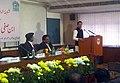 The Minister of State for Human Resource Development, Shri Jitin Prasada at the inauguration of the Ibne Safi Seminar at Jamia Millia Islamia, in New Delhi on December 14, 2012.jpg
