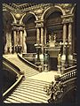The Opera House, the grand staircase, Paris, France-LCCN2001698522.jpg