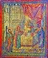 The Presentation of Christ Icon, Saint George Church in Lazaropole, late 18 Century, Nedelko from Rosoki.jpg
