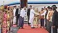 The Prime Minister, Shri Narendra Modi being received on his arrival at Bagan, Myanmar on September 06, 2017 (1).jpg