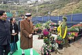 The Prime Minister, Shri Narendra Modi visiting the orchid display and seasonal flowers exhibition, in Gangtok on January 18, 2016. The Chief Minister of Sikkim, Shri Pawan Kumar Chamling is also seen (1).jpg