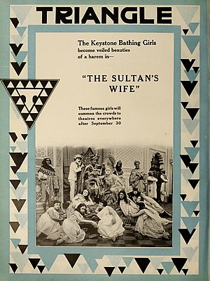 The Sultan's Wife - Advertisement for the film