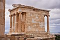 The Temple of Athena Nike from the Propylaea on December 30, 2019.jpg
