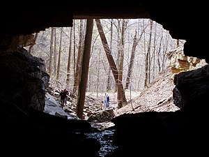 Clifty Falls State Park - Image: The Tunnel (south end)