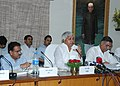 The Union Minister for Railways, Shri Lalu Prasad addressing the meeting of General Managers from all zonal railways, in New Delhi on May 5, 2006.jpg