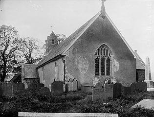 The church, Llangadfan