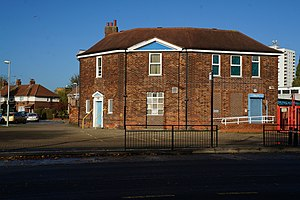 North Hull Estate - Former Greenwood Avenue rent office (2013)