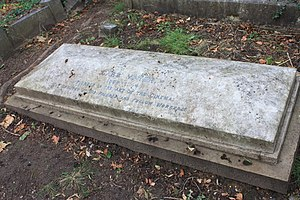 Carl Mayer - The grave of Carl Meyer, Highgate Cemetery East