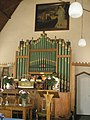 The organ at Harting Congregational Church - geograph.org.uk - 1319383.jpg