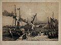 The reception of of King Louis Philippe after his embarkment Wellcome V0048264.jpg