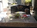 The tomb of Colette, Pere Lachaise, Paris, sof2011.JPG