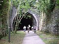 The tunnel at the start of the Tissington Trail, Ashbourne - geograph.org.uk - 130214.jpg
