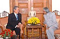 The visiting Prime Minister of Malaysia, Mr. Dato Seri Abdullah Ahmed Badawi calls on the President, Dr. A.P.J. Abdul Kalam in Delhi on December 20, 2004 (1).jpg