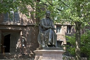 Theodore Dwight Woolsey - Theodore Dwight Woolsey statue on Yale's Old Campus