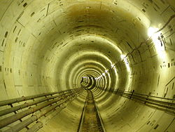 Thessaloniki Metro Tunnel 02.JPG