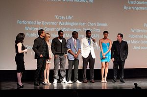 All Things Fall Apart - The cast of All Things Fall Apart at the 2011 Miami International Film Festival showing.