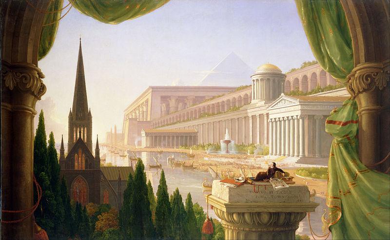 Thomas Cole, The Architect's Dream, 1840, Toledo Museum of Art, Toledo, OH, USA.