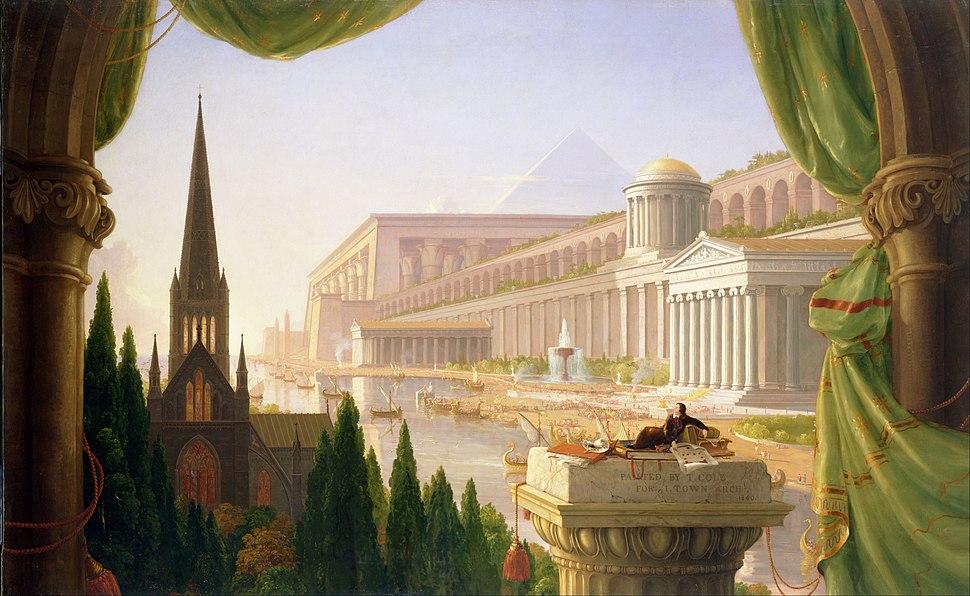 Thomas Cole - Architect's Dream - Google Art Project