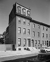 Thomas Eakins House, 1729 Mount Vernon Street, Philadelphia (Philadelphia County, Pennsylvania).jpg