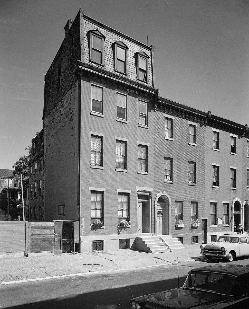 Thomas Eakins House, 1729 Mount Vernon Street, Philadelphia (Philadelphia County, Pennsylvania)