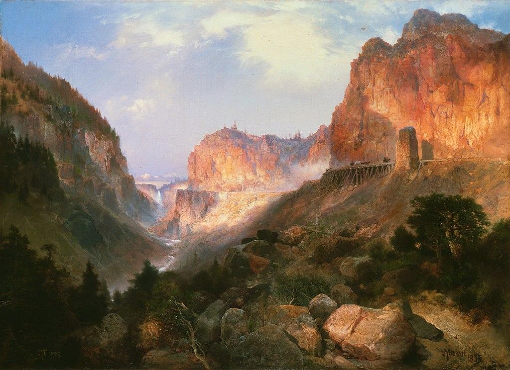 File Thomas Moran Golden Gate Yellowstone National Park