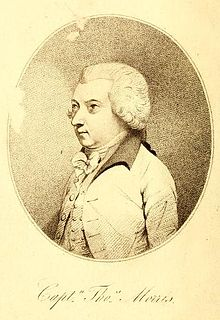 Thomas Morris (British Army officer) British Army officer and writer