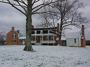 National Register of Historic Places listings in Charles County, Maryland - Image: Thomas Stone House