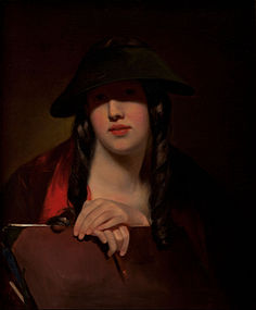 Thomas Sully - The Student (Rosalie Kemble Sully) - Google Art Project.jpg
