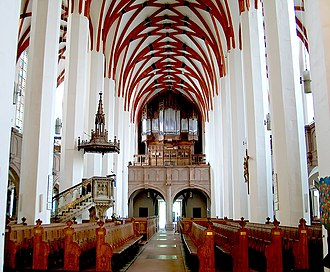 St. Thomas Church, Leipzig - Interior, 2008