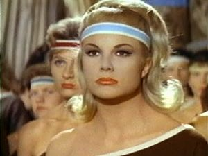 Susy Andersen - Susy Andersen as Tamar in the movie Thor and the Amazon Women