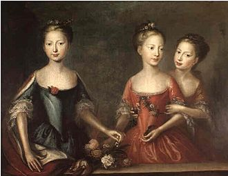 Princess Anne's Battery - The daughters of King George II (Anne, Amelia, and Caroline), after whom three batteries in Gibraltar were named