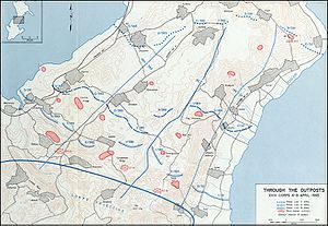 Through the Outposts- XXIV Corps, 4-8 April 1945