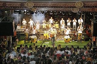 Timbalada Afro-Brazilian musician group