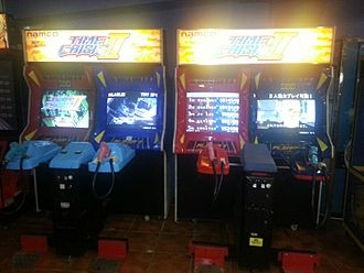 Time Crisis II - The game's arcade machines